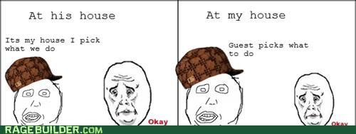 friends Okay Rage Comics scumbag hat - 5840700672