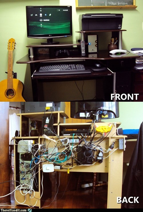 cable management computer repair Hall of Fame wtf - 5840739840