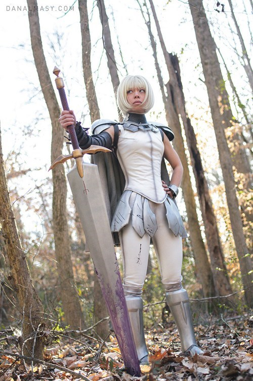 catherine jones,clare,claymore,comics,cosplay,cosplay corner,tv shows,volpin props