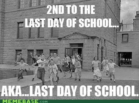 kids last day Memes school - 5840828928