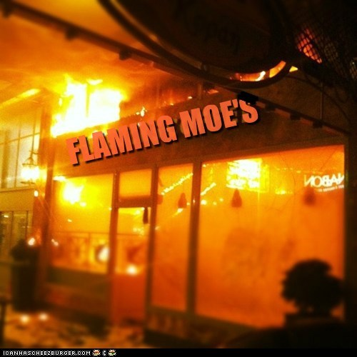 flaming-moes political pictures Starbucks the simpsons - 5840947456
