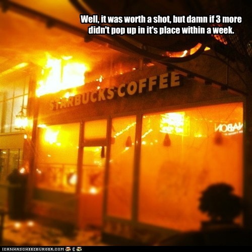fire,Hall of Fame,political pictures,Starbucks