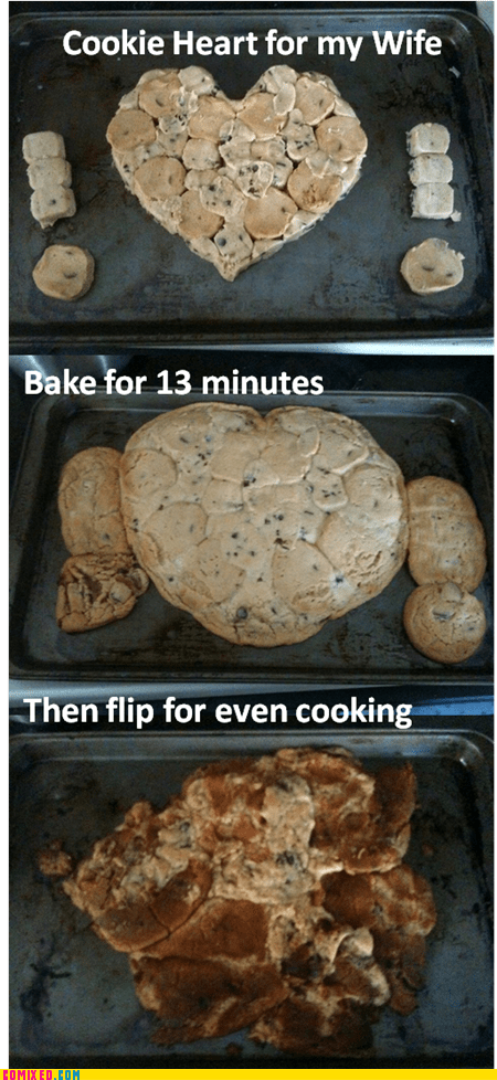 baking cookies even cooking i accidentally marriage Valentines day vday - 5841353216