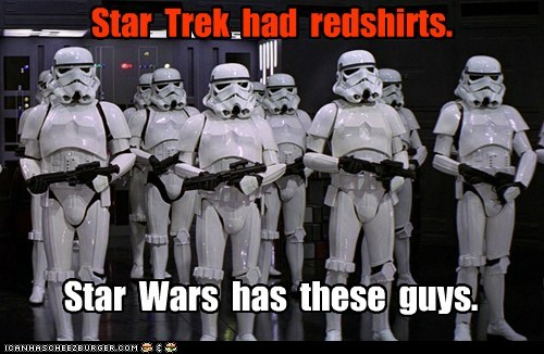 dying,expendable,redshirts,star wars,stormtrooper