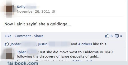 gold digger,ICWUDT,witty reply