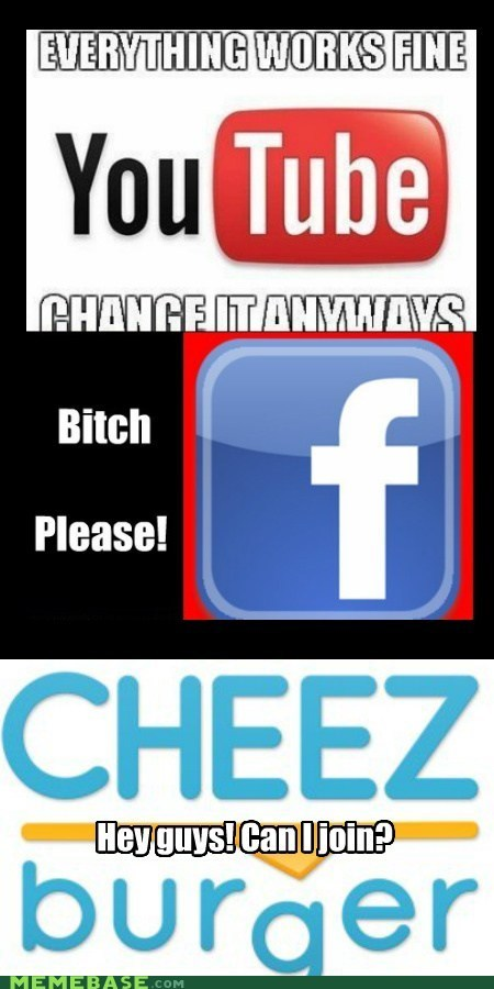 cheezburger facebook Memes meta voting youtube