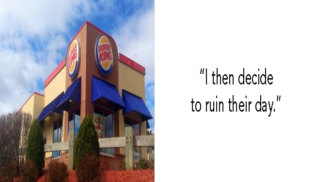 venting pies funny story revenge Reddit burger king funny cheezburger cheezcake - 5842437
