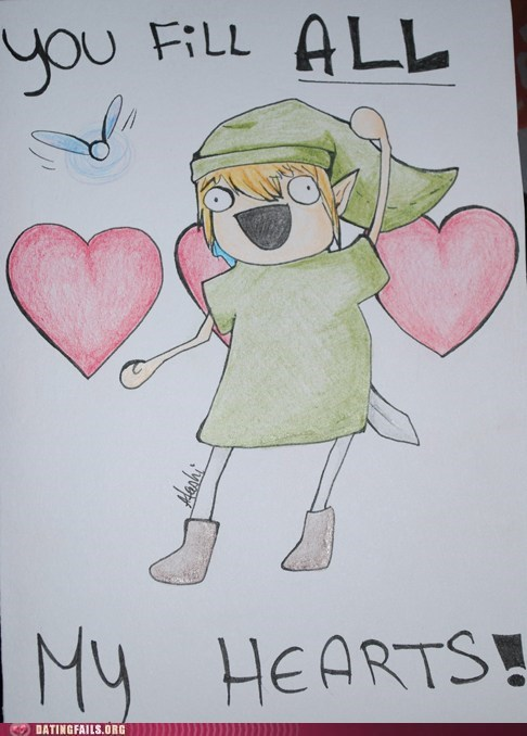 Legend of Zelda in Love