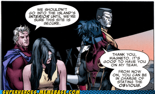 Magneto nightcrawler obvious Straight off the Page - 5842651648