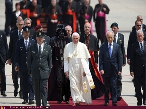 best of week,catholicism,darth vader,pope,Senator Palpatine,star wars,vatican