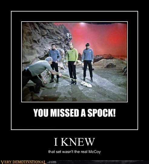 hilarious,McCoy,pun,set,Star Trek