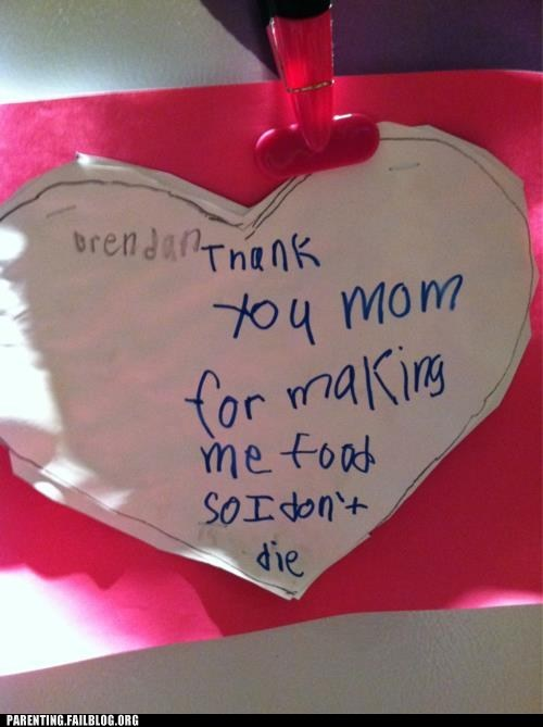keeping kids alive making food moms Valentines day - 5843390208