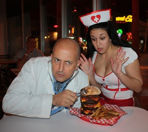 darwin award,Does What It Says,Heart Attack Grill