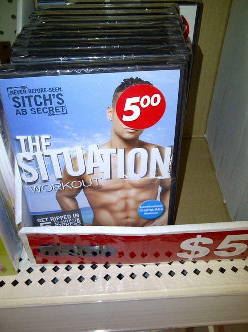 ab secrets,six pack abs,the jersey shore,the situation
