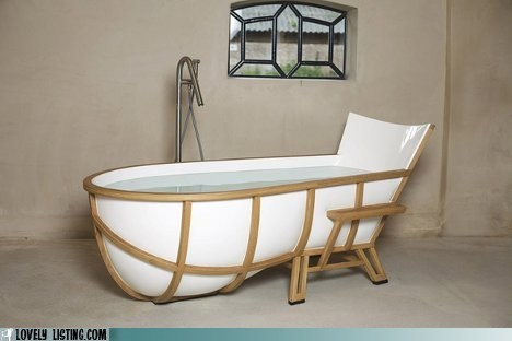 bath tub bathroom chair comfy furniture - 5844176384