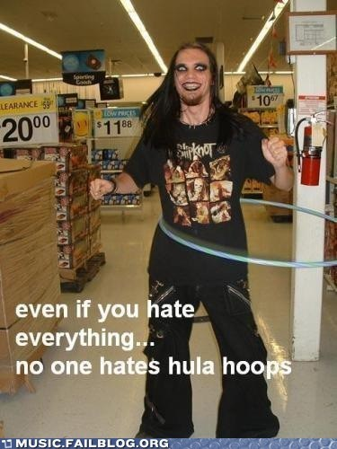 hate,hatred,hula hoop,metal,slipknot
