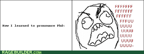 fu guy,pho,Pronunciation,Rage Comics