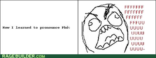 fu guy pho Pronunciation Rage Comics - 5844346624