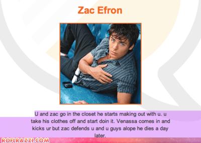 5eva celeb funny zac efron - 5844477184