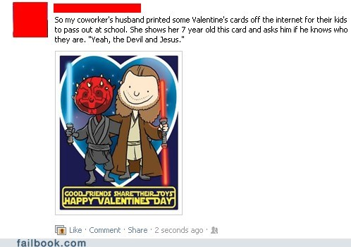 failbook,g rated,Jedi,jesus,satan,sith,star wars