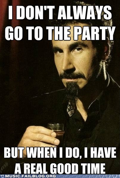 Hall of Fame serj tankian system of a down the most interesting man in the world