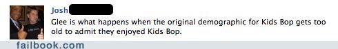 glee,kids bop