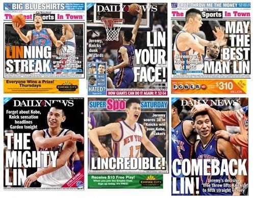 Jeremy Lin Linsanity New York Knicks Punny Headlines - 5844725760