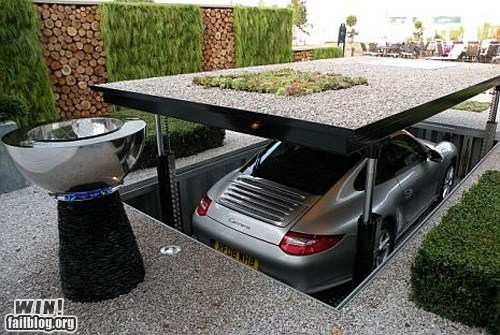 car design driveway driving hidden impractical swag