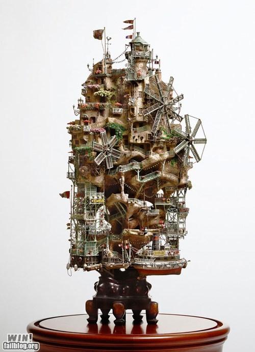 architecture art detail model tiny - 5844778240