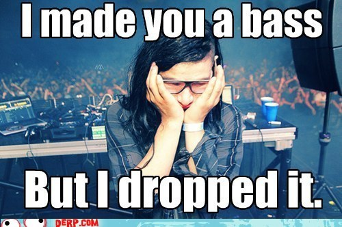 best of week concert drop the bass skrillex weird kid WUB WUB WUB - 5844986880