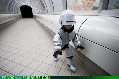 cosplay,cute,kid,movies,robo cop