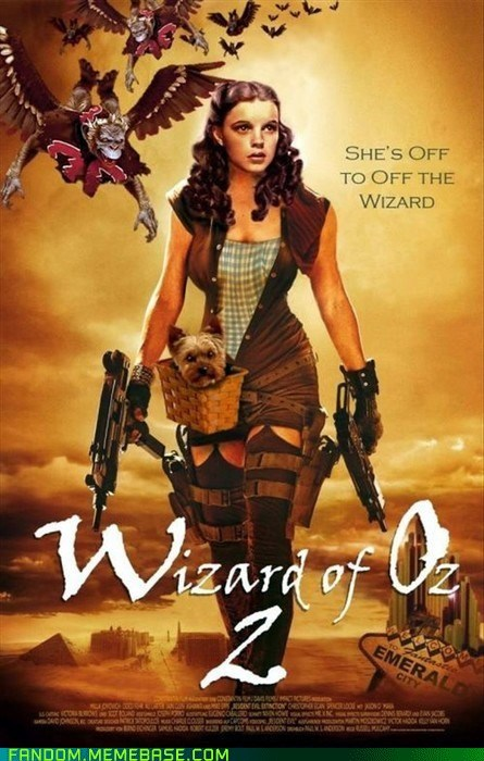 best of week crossover Fan Art movies resident evil wizard of oz - 5845043200