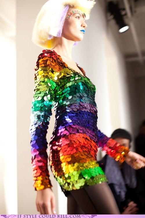chameleon cool accessories jeremy scott rainbows runway - 5845081344