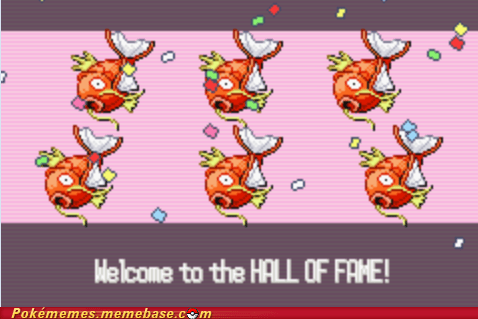 best of week Challenge Accepted elite four endgame gameplay Hall of Fame magikarp - 5845100288