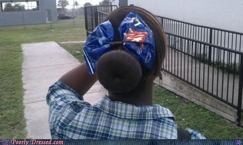 bow chips cool ranch doritos hair bow