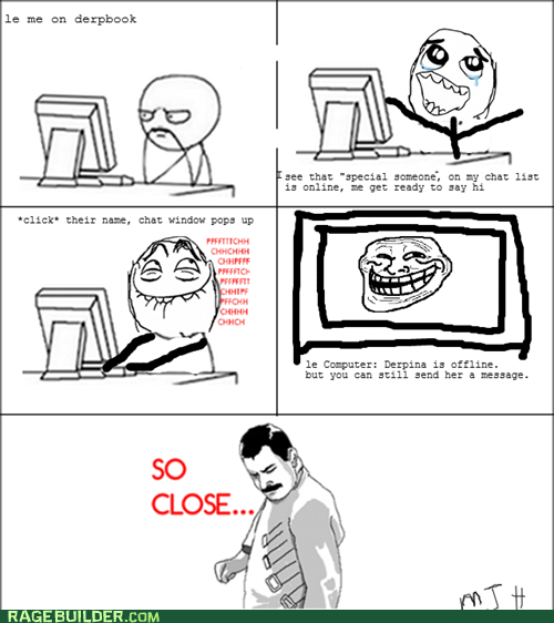 chat,facebook,Rage Comics,so close
