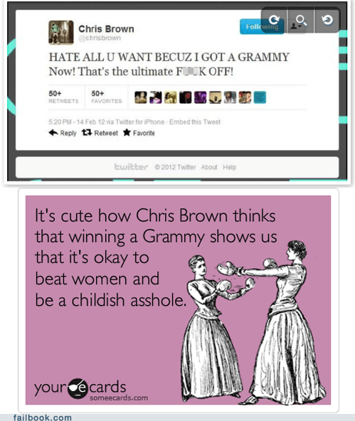 chris brown grammy hate jerk oh snap - 5845825024