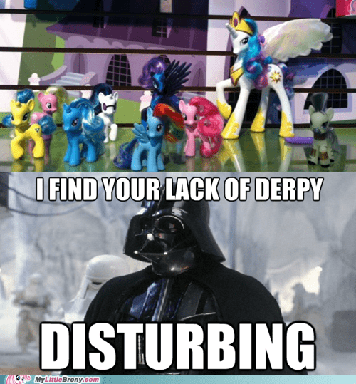 darth vader derpy lack of faith meme star wars toys