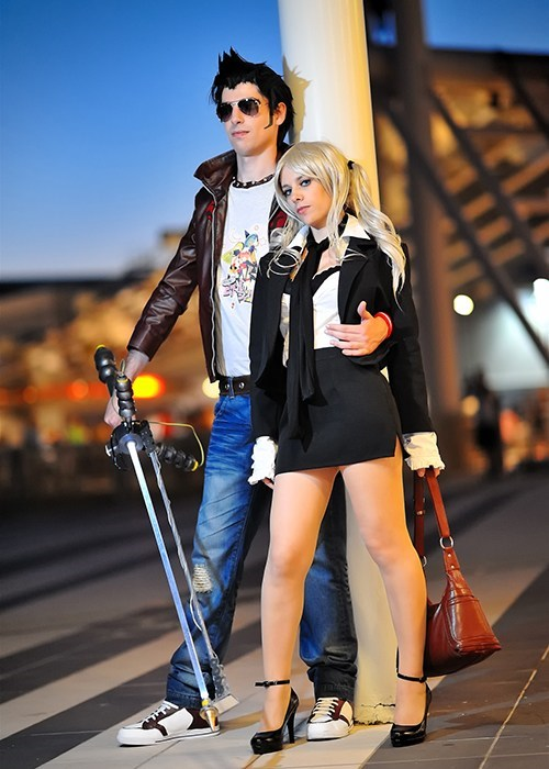 cosplay,cosplay corner,Italy,no more heroes,romics,silvia christel,travis touchdown,video games