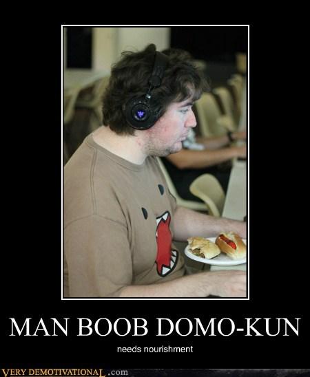 domo hilarious man-bewb T.Shirt - 5846243328