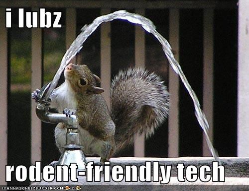 i lubz rodent-friendly tech