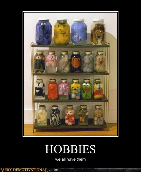hilarious,hobby,jar,stuffed animals,wtf