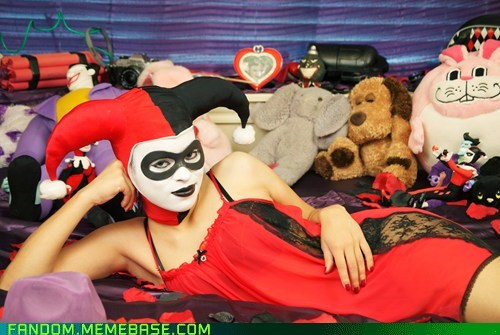 batman comics cosplay Harley Quinn - 5847236608