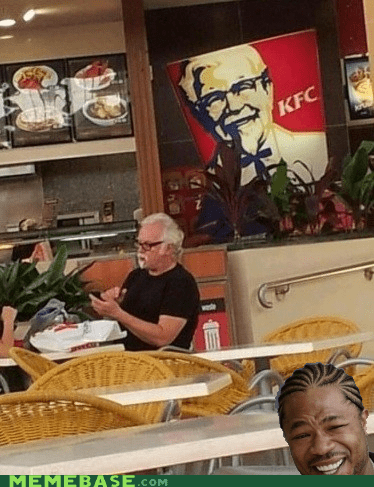 chicken,Colonel,kfc,not an ad i swear,yo dawg