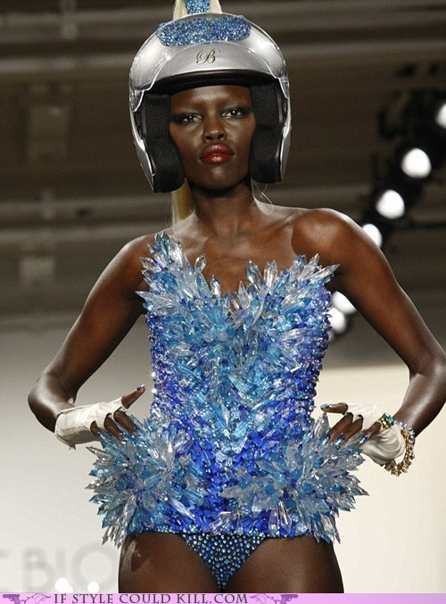 cool accessories,runway,the blonds