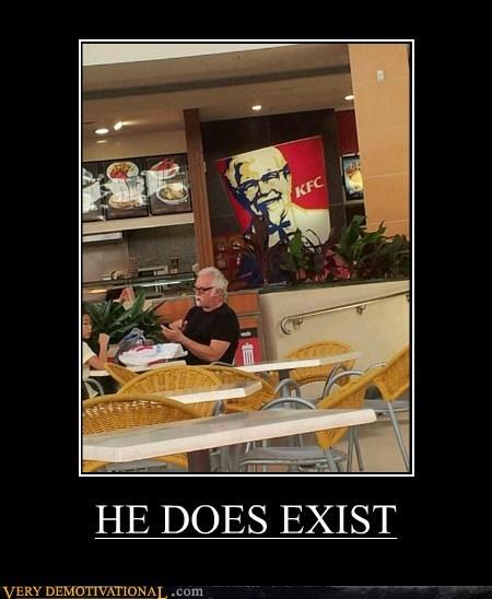 colonel sanders exist hilarious kfc