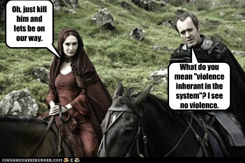 Carice van Houten,Game of Thrones,kill,melisandre,monty python and the holy grail,stannis baratheon,stephen dillane