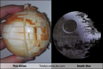Death Star,food,funny,Hall of Fame,onion,star wars,TLL