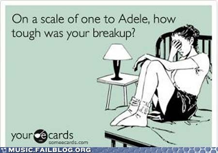 adele breakup dating ecard ex relationships - 5849135360