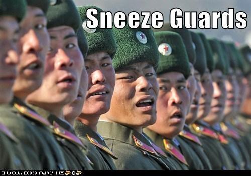 guards North Korea political pictures